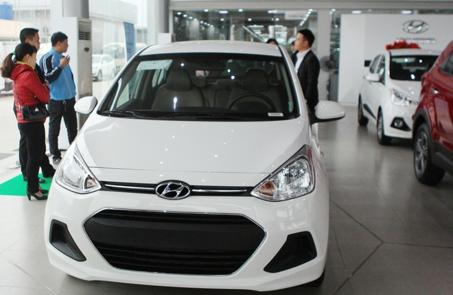 Hyundai Grand i10 - lua chon cua cac doanh nghiep taxi Viet hinh anh 4