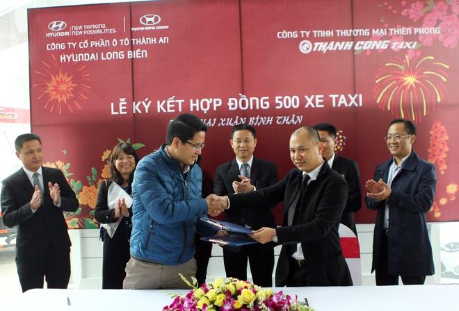 Hyundai Grand i10 - lua chon cua cac doanh nghiep taxi Viet hinh anh
