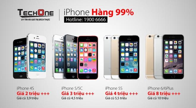 TechOne giam gia lon, tang iPhone 6 dip 8/3 hinh anh 4