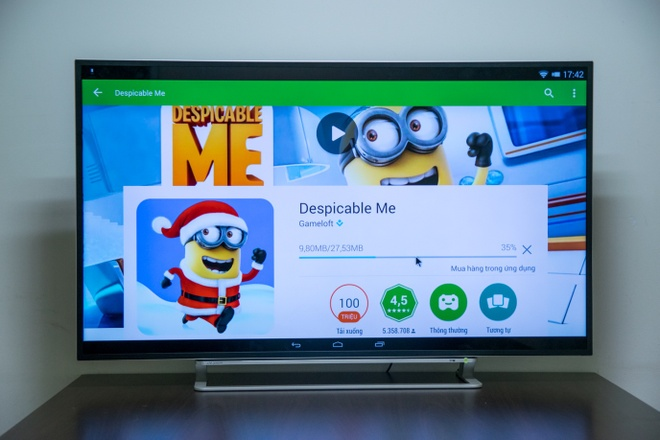 4 uu diem noi bat cua TV Toshiba 4K Android hinh anh 3
