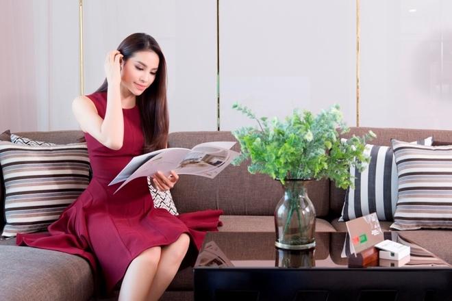 Tham nha tuong lai cua Hoa hau Pham Huong hinh anh 5