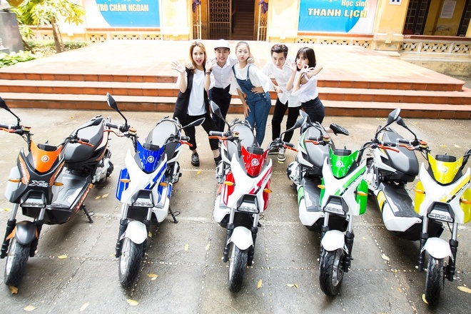 Xe dien HKbike ap dung cong nghe chong nuoc tien tien hinh anh 3