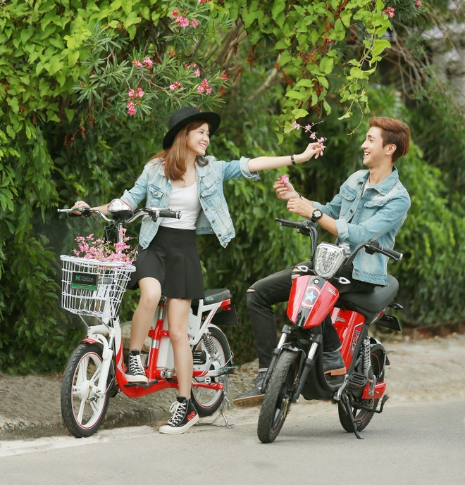Xe dien HKbike ap dung cong nghe chong nuoc tien tien hinh anh 5