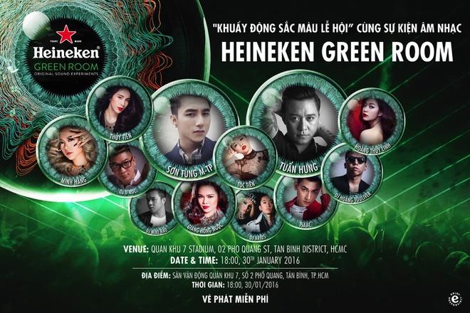 Heineken to chuc chuong trinh 'Trai nghiem chuan sao' hinh anh 2