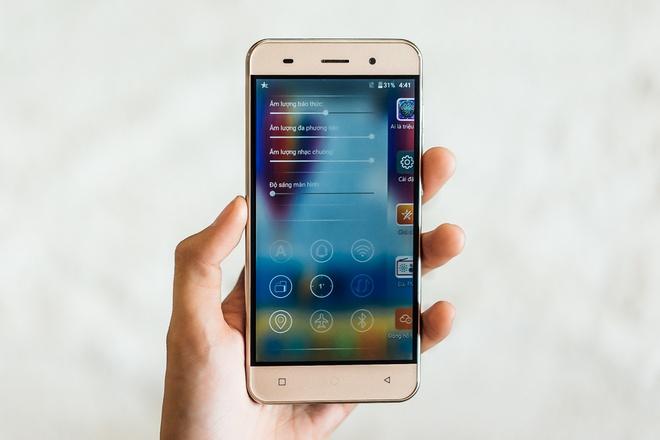 LAI Yuki: Smartphone man hinh 5 inch tam gia 3 trieu dong hinh anh 6