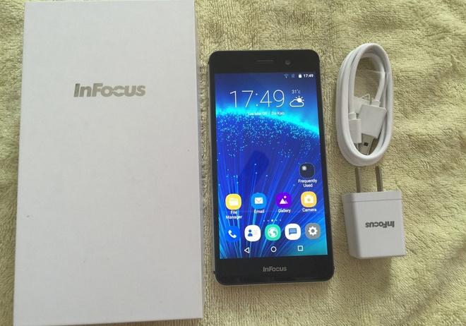 Infocus M560: Smartphone My RAM 2 GB tam gia 2 trieu dong hinh anh 1