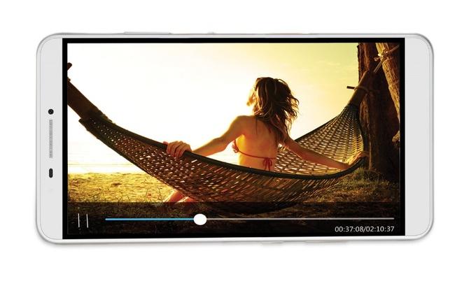 Lenovo PHAB: Phablet man hinh 7 inch, ho tro 2 SIM, 4G LTE hinh anh 1