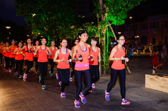 Bung no nang luong cung 'adidas Positive Energy Run' hinh anh 2