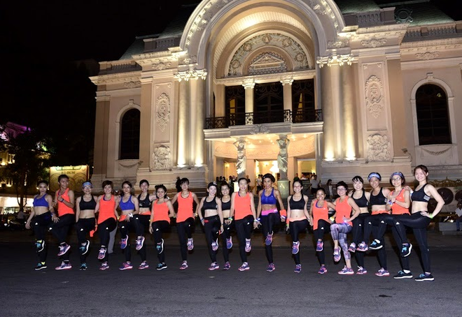 Bung no nang luong cung 'adidas Positive Energy Run' hinh anh 6