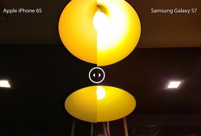 So anh chup nhanh bang Galaxy S7 va iPhone 6S hinh anh