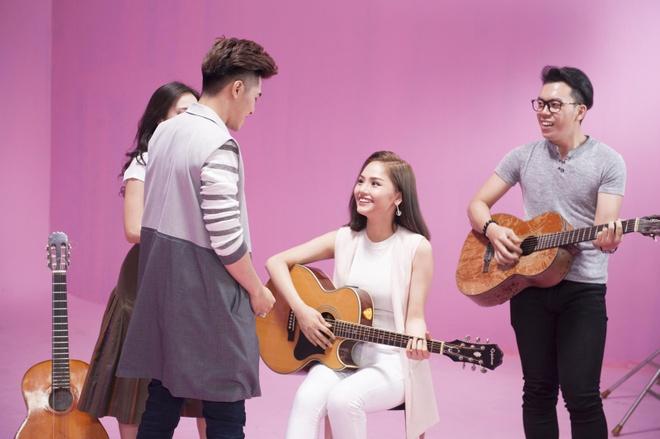 Miu Le hoa co em gai de thuong cua Thuy Tien trong MV moi hinh anh 5