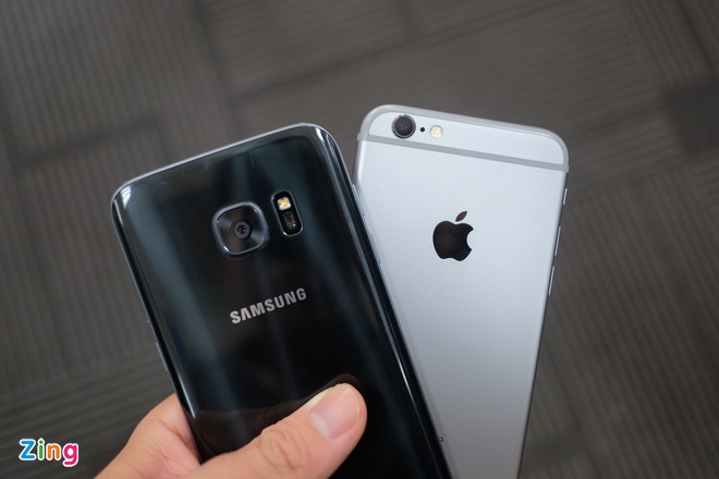 Samsung Galaxy S7 so dang Apple iPhone 6S hinh anh 9