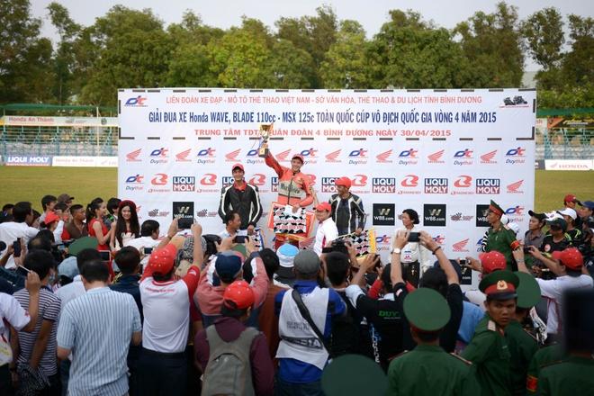 Honda Viet Nam day manh dua xe the thao trong nam 2016 hinh anh 3