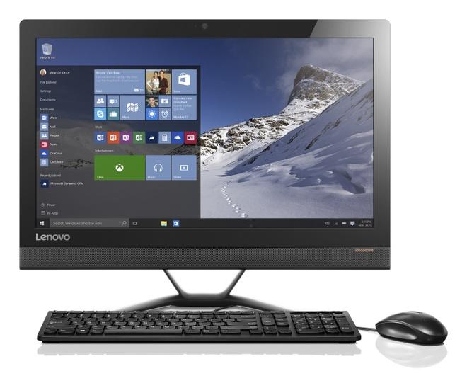 Lenovo Ideacentre AIO 300: May tinh tiet kiem khong gian hinh anh 3