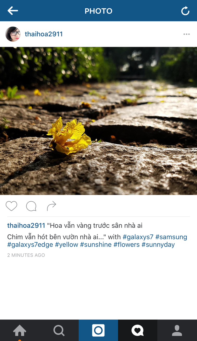 Nhung buc anh an tuong chup bang Galaxy S7 tren instagram hinh anh 4