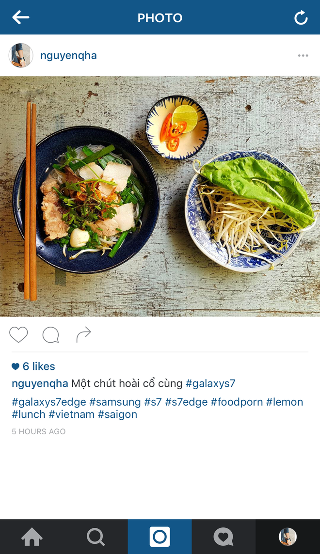 Nhung buc anh an tuong chup bang Galaxy S7 tren instagram hinh anh 6