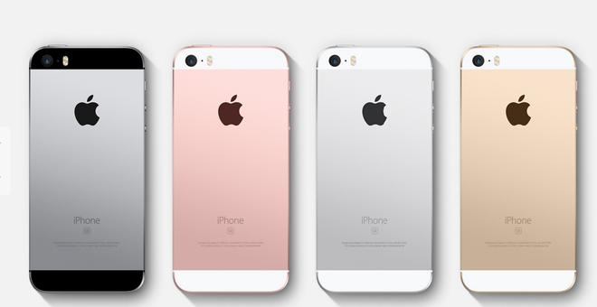 iPhone SE ra mat, iPhone 5S/iPhone 6 ha gia manh hut khach hinh anh 1