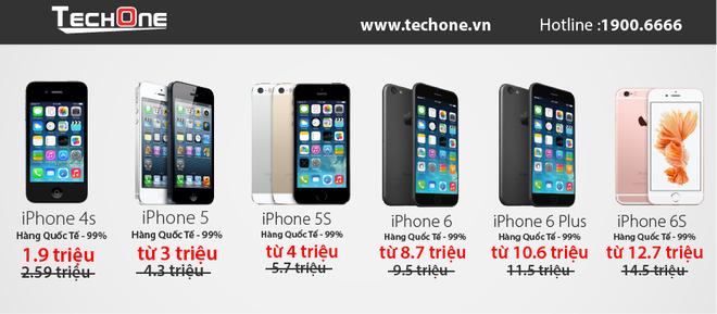 iPhone SE ra mat, iPhone 5S/iPhone 6 ha gia manh hut khach hinh anh 4