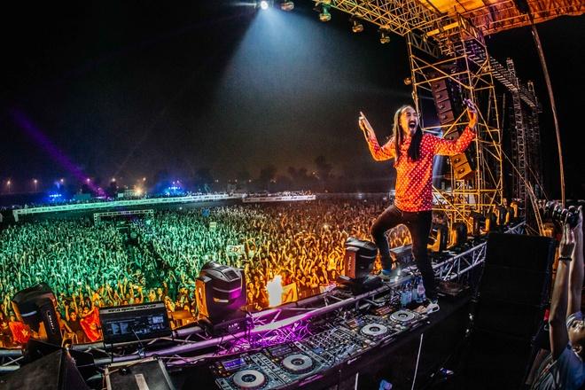 Top 10 DJ the gioi Steve Aoki don tim khan gia Viet hinh anh