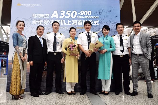 VNA khai thac Airbus A350 tren tuyen TP HCM - Thuong Hai hinh anh 1