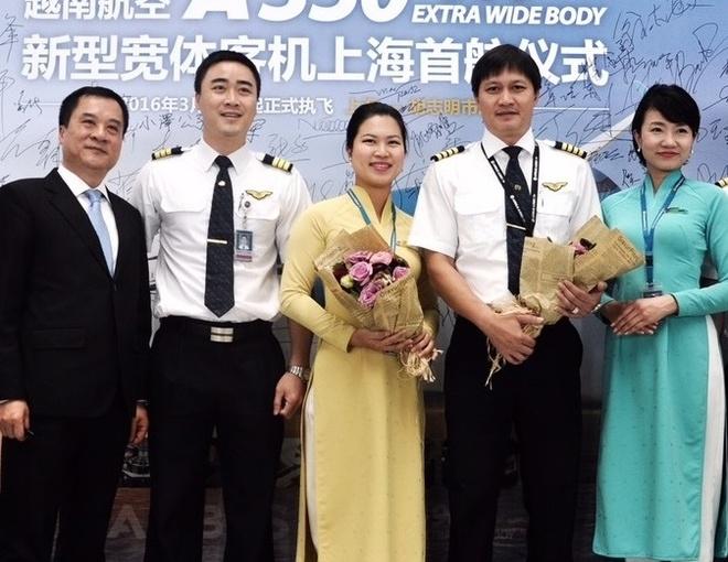 VNA khai thac Airbus A350 tren tuyen TP HCM - Thuong Hai hinh anh