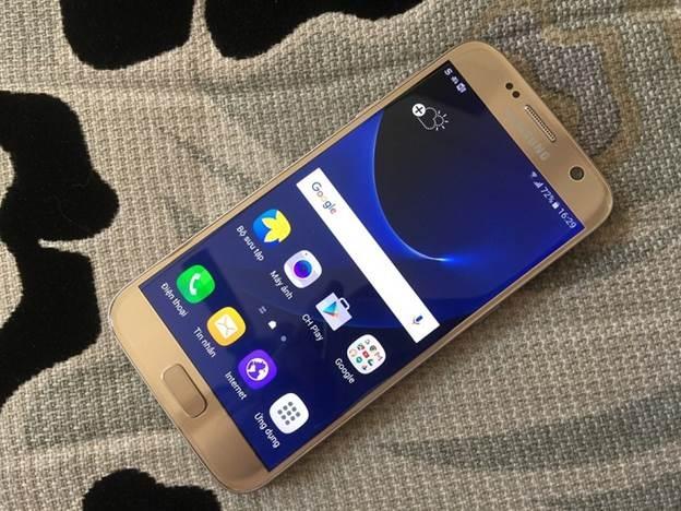 Samsung Galaxy S7 xach tay ve Viet Nam voi gia 12 trieu dong hinh anh