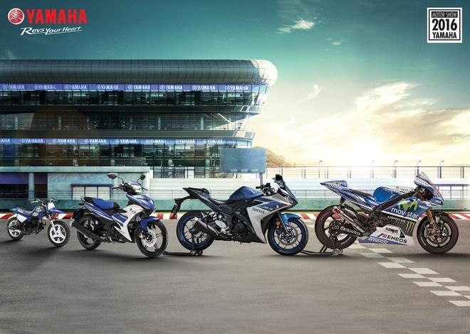 Yamaha mang triet ly 'hanh trinh' den Trien lam moto xe may hinh anh 1