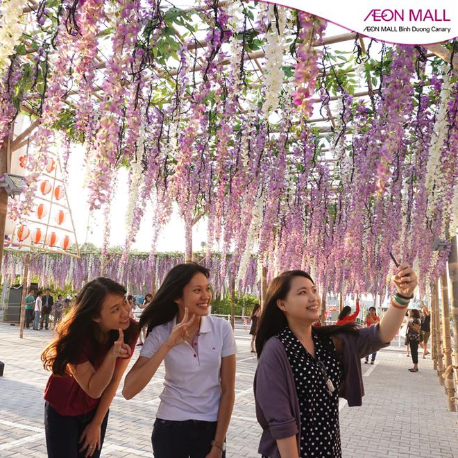 Thien duong hoa tu dang dep tai AEON Mall Binh Duong hinh anh 1