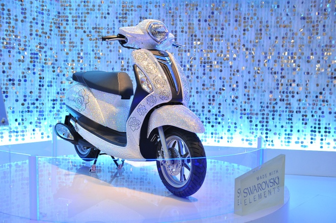 Yamaha se trinh dien moto bay tai trien lam xe may Viet Nam hinh anh 1