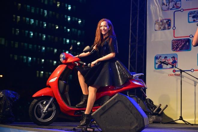 Yamaha se trinh dien moto bay tai trien lam xe may Viet Nam hinh anh 3