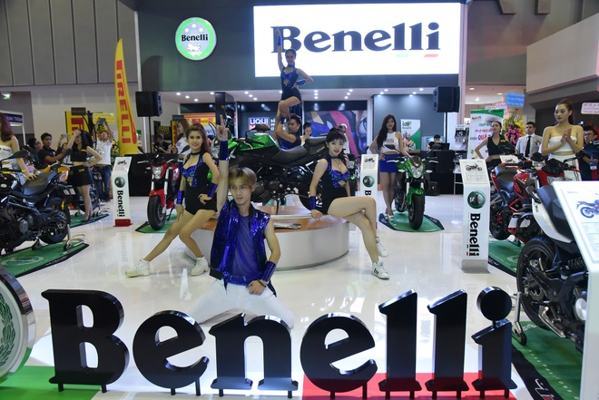 Benelli trung bay xe tai trien lam moto, xe may 2016 hinh anh 7