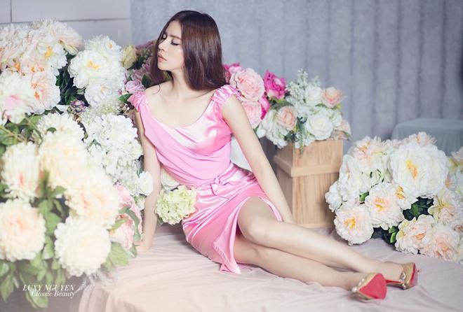 LuxyNguyen ra mat BST Classic Beauty mang hoi tho the ky 19 hinh anh 5
