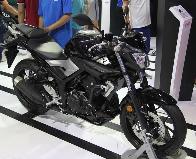 Can canh naked-bike Yamaha MT-03 hinh anh 1