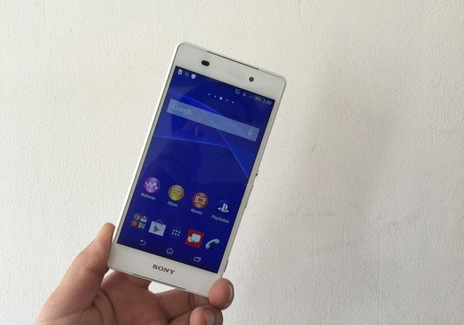 Nhung mau smartphone Sony Xperia tam gia 3 trieu dong hinh anh 3
