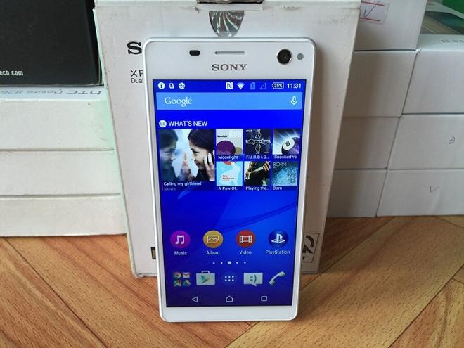 Nhung mau smartphone Sony Xperia tam gia 3 trieu dong hinh anh 5