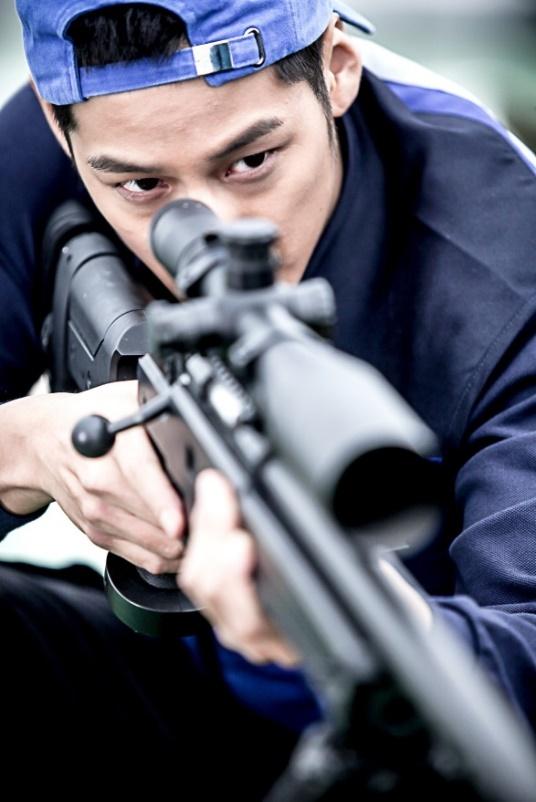 Kim Bum tai ngo khan gia truyen hinh Viet trong vai canh sat hinh anh 4