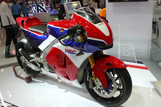 Honda Winner 150 hut khach tai trien lam xe may Viet Nam hinh anh 3