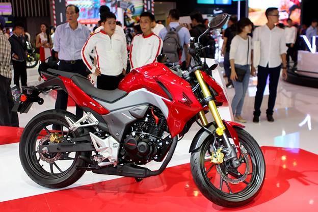 Honda Winner 150 hut khach tai trien lam xe may Viet Nam hinh anh 5