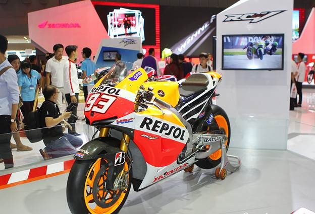Honda Winner 150 hut khach tai trien lam xe may Viet Nam hinh anh 6