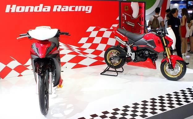Honda Winner 150 hut khach tai trien lam xe may Viet Nam hinh anh 7