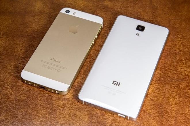 Xiaomi Mi 4 RAM 3 GB gia 3 trieu dong hut nguoi dung hinh anh 3