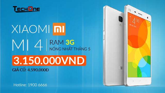 Xiaomi Mi 4 RAM 3 GB gia 3 trieu dong hut nguoi dung hinh anh 5