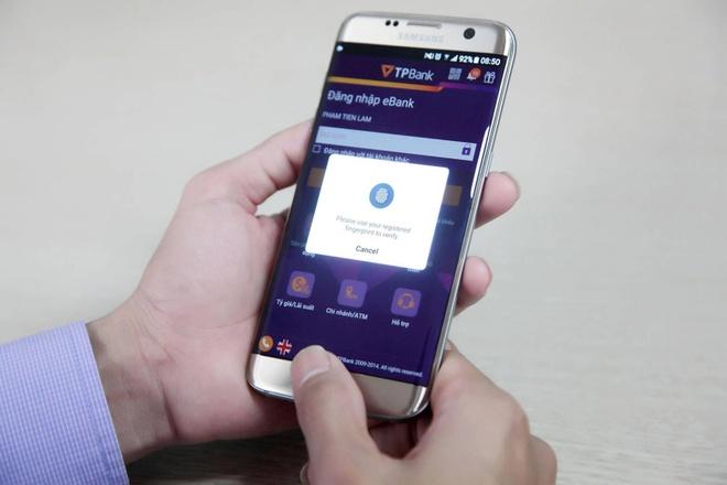 TPBank ho tro dang nhap, thanh toan bang van tay voi Android hinh anh 1