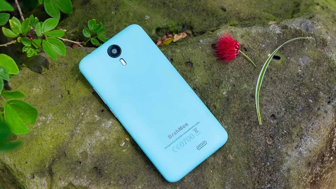 Brahmos 4G: Smartphone gia re, thiet ke tre trung hinh anh 1