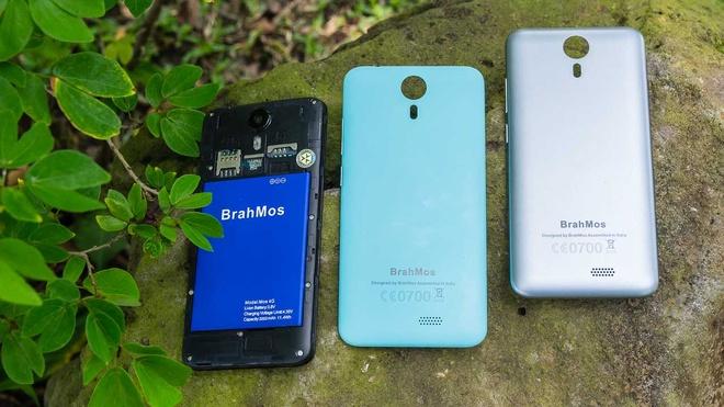 Brahmos 4G: Smartphone gia re, thiet ke tre trung hinh anh 2