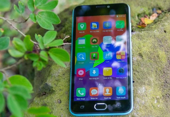 Brahmos 4G: Smartphone gia re, thiet ke tre trung hinh anh