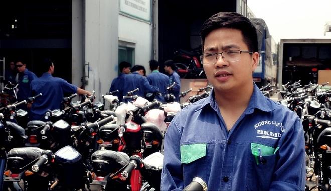 Xuong san xuat HKbike tang ca lien tuc de dap ung don hang hinh anh 5