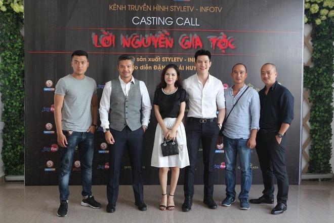 A hau Huyen My tham gia casting phim 'Loi nguyen gia toc' hinh anh 5