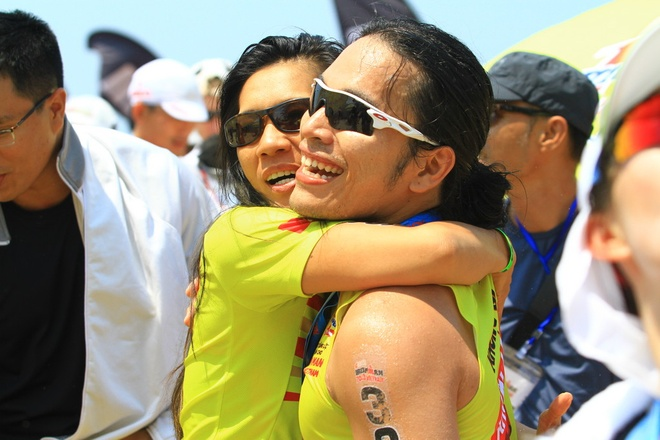 Hanh trinh can dich cua doi Number 1 tai Ironman 70.3 hinh anh 2