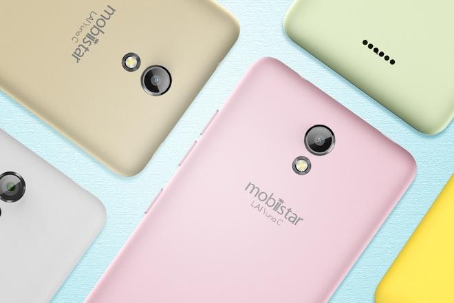 LAI Yuna C: Smartphone mau pastel tam gia duoi 2 trieu dong hinh anh 1